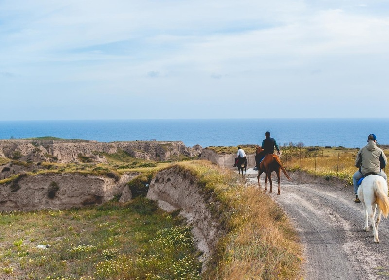 Experience Santorini on Horseback with Top Horse Riding Tours